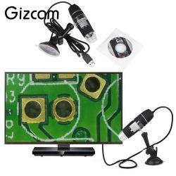 MICROSCÓPIO DIGITAL 8 LED  USB  CAMERA DE VIDEO