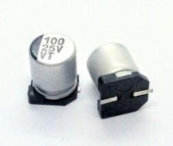 CAPACITOR ELETROLITICO 100UFX25V SMD