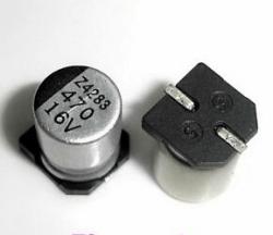 CAPACITOR ELETROLITICO 470uFX16V   SMD