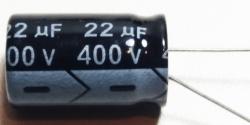 CAPACITOR ELETROLITICO   22UFX400V