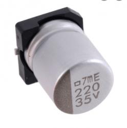 CAPACITOR ELETROLITICO 220uF X35V SMD 10mmX10mm
