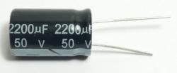 CAPACITOR ELETROLITICO 2200uF X50V