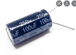 CAPACITOR ELETROLITICO 100uF X250V