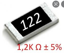 RESISTOR 1K2   SMD 1206