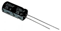 CAPACITOR ELETROLITICO 330UFX25V
