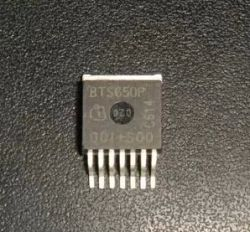 BTS650P  TO263  SMD